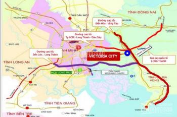 Chính chủ cần bán gấp 1 lô mặt tiền KDC An Thuận - Victoria City sân bay Long Thành, 0937012728