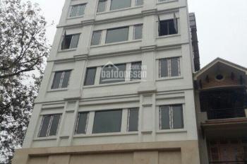 Cho thuê tòa nhà khu Ngụy Như Kon Tum, 7 tầng thang máy, có hầm, LH: 0906218216