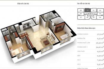 Chính chủ cần bán gấp căn hộ tại Richland Southern 181 Xuân Thủy, Cầu Giấy, HN. LH 0914072429