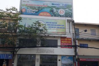 Nhà cho thuê nguyên căn, mặt tiền đường Nguyễn Tất Thành, phường 18, quận 4