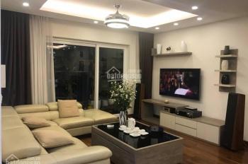 Cần cho thuê căn hộ chung cư Golden Palace, căn góc tòa B tầng 15, 128m2, 3PN, LHTT: 0936105216