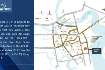 Q7 Saigon Riverside CĐT Hưng Thịnh view sông liền kề Phú Mỹ Hưng giá chỉ 1.5 tỷ/căn. LH: 0911914455