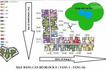 Bán gấp căn 63,6 m2 thiết kế 2PN, tầng cao view đẹp giá 2.280tỷ. LH: 0968.90.39.39