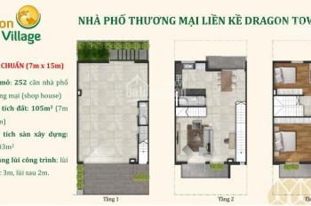 Bán suất nội bộ dự án Dragon Village đợt 1, giá tốt nhất 4.05 tỷ/180m2, nhà 3 lầu, LH: 0906.2341.69