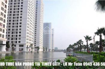 Cho thuê văn phòng tại Times City, ưu tiên cư dân