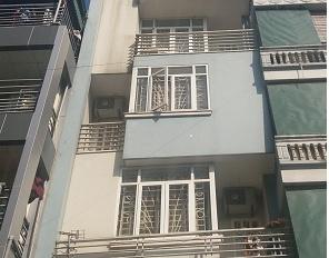 Cho thuê nhà phân lô 18A đường Trung Yên 6 - Diện tích 80m2 x 4 tầng, đường 8m hè 2m