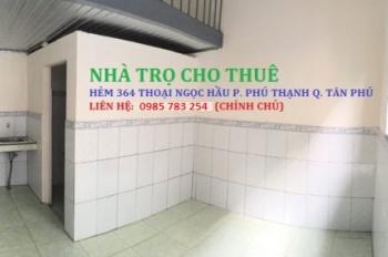 Dãy phòng trọ quận Tân Phú phù hợp cho hộ gia đình, nhân viên văn phòng