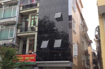 Chủ nhà cho thuê nhà mặt phố 5 tầng Nguyễn Ngọc Vũ, mặt tiền rộng. Giảm giá 50% hỗ trợ khách hàng
