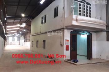 Cho thuê xưởng 800m2 mặt tiền đường Phạm Văn Sáng, 43tr/th
