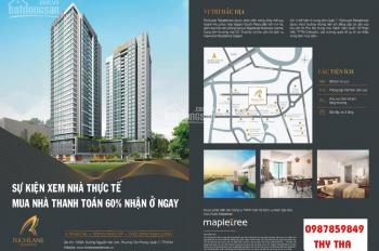 Richlane Residence (Mapletree) xem nhà thực tế. Thanh toán 30% nhận ở ngay, CK 2%. 0987859849