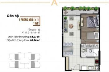 Căn hộ Ascent Lakeside Quận 7, 1 phòng ngủ, giá tốt nhất thị trường chính chủ đầu tư