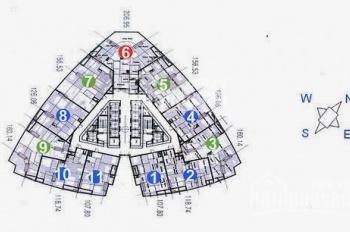 Chung cư Keangnam 107.8m2, 118m2, 126m2, 156m2, 160m2, 206m2, giá chỉ từ 39tr/m2. 0974681333