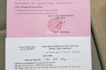 Chính chủ bán gấp 50m2, 60m2, 70m2, 80m2, 90m2, 100m2, 150m2 đất dịch vụ xã An Thượng đã bốc thăm