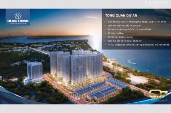 Căn hộ Q7 MT đường Đào Trí, view sông Sài Gòn, bàn giao hoàn thiện, 1,6 tỷ/2PN, CK 3%. 0978313503