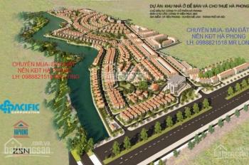 Bán đất biệt thự tự xây dựng 300m2 khu đô thị Hà Phong, Mê Linh, giá 10,5tr/m2