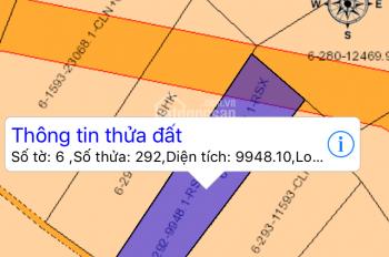 Bán đất An Viên, đất sào đường Bắc Sơn - Long Thành cắt đôi, mặt tiền mỗi bên 55 - 60m, chính chủ