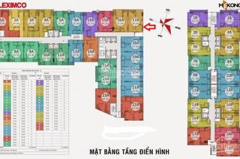 Chính chủ bán căn hộ 806: 2PN, chung cư Gemek nhìn ra đường Lê Trọng Tấn, 1,1 tỷ. LH: 0962251630