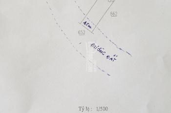 Bán lô đất vườn 6x25m = 150m2, 690 tr SR gần chùa Bà Thau, Thạnh Phước, Tân Uyên, Bình Dương