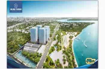 Mở bán block đẹp nhất dự án Q7 Riverside, view sông Sài Gòn. Giao hoàn thiện cao cấp, 2 tỷ/2PN
