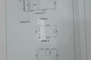 Bán nhà mặt tiền kinh doanh đường Văn Cao, Tân Phú 8x20m, giá 25.8 tỷ