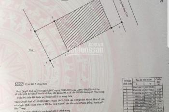 Cần bán lô đất 162m2 sau lưng uỷ ban nhân dân xã Phước Đồng, Nha Trang