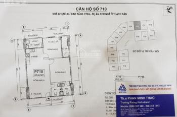 Bán căn hộ thương mại Thạch Bàn tầng 10 đến 20