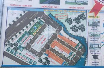 Bán nhanh 2 nền dự án Diamond Town, P. Phú Hữu, quận 9. Vị trí đẹp, đường lớn 10m
