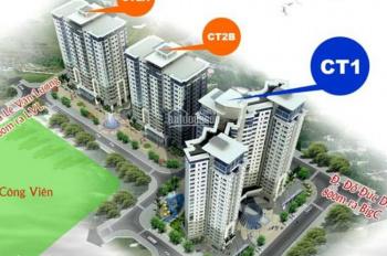 Chính chủ bán gấp CHCC CT2A Thạch Bàn, căn 2215 (căn góc), DT 69.91m2, 15 tr/m2, 0912700518