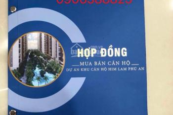 Chuẩn bị đi nước ngoài cần bán căn hộ Him Lam Phú An, view hồ bơi căn góc, LH 0906 388 825