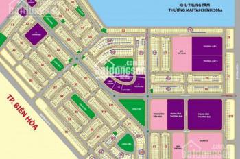Cần ra gấp lô đất mặt tiền đường lớn 28m dự án Lavender City - Thạnh Phú giá 1tỷ6. LH 0898 756 168
