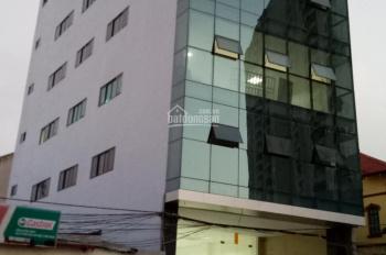 Cho thuê tòa nhà 110m2 x 6 tầng 2 thang máy, mặt phố Ngô Xuân Quảng, Gia Lâm, Hà Nội
