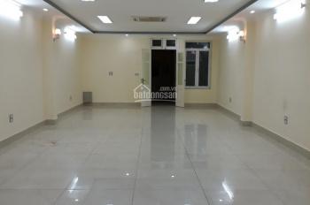 Cho thuê VP mặt phố Nguyễn Khang 55m2, MT 6m. Đầy đủ tiện nghi có hầm để xe, có thang máy