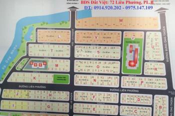 Bán đất sổ đỏ dự án Sở Văn Hóa, Phú Hữu, Quận 9, mặt tiền đường Liên Phường, giá chỉ 74 tr/m2