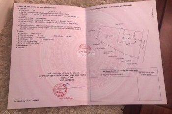 Cần bán căn nhà đất tổng DT: 1500m2, P. Hiệp Thành, Tp. Thủ Dầu Một, Bình Dương