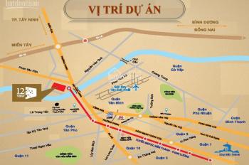 Căn hộ 12view cầu Tham Lương, 84m2 tầng 6 giá 1,25 tỷ, đông nam, nhận nhà ngay. Mr. Hoan 0938144849