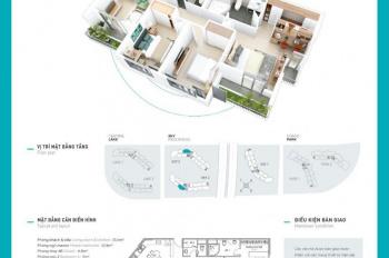 Chính chủ bán căn hộ 90m2 tầng 2707 toà Sky 2, chung cư Aqua Bay Ecopark, bao phí