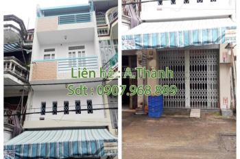 Nhà bán 3m5 x 15m, 1 trệt, 1 lửng, 2 lầu, Phạm Phú Thứ, P4, Q6