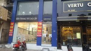 Mặt bằng kinh doanh, phố chính Nguyễn Khánh Toàn - DT 100m2 x 3 tầng, MT 6m - thông sàn - thang máy