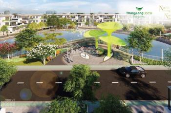 100m2 giá chỉ 38tr/m2 mặt tiền đường 16m hiện hữu tại Thăng Long Home Hưng Phú, Thủ Đức