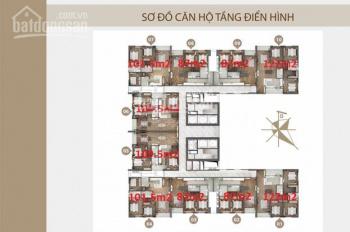 Bán căn 07 chung cư Phú Mỹ (N01 - T4) Ngoại Giao Đoàn, 101.5m2, 3pn, full đồ, view hồ điều hoà