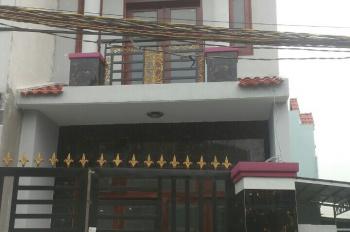 Nhà mặt tiền mới xây 1trệt, 1lầu chính chủ SHR Hương Lộ 11, Hưng Long, Bình Chánh LH: 0908729163