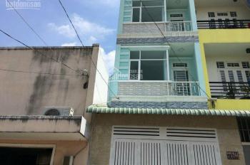 Nhà mặt tiền 173 An Dương Vương, Q. Bình Tân, giá: 11tr/th, DT: 4x14m, 2 lầu, LH Ms: 0983904118