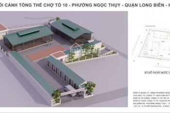 Cho thuê địa điểm KD mặt bằng 1000m2 tại Đê Ngọc Thụy - Long Biên, oto tải 5 tấn vào tận nơi