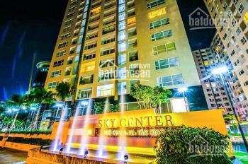 Cho thuê căn 2PN CC Sky Center, Phổ Quang gần sân bay, ML, rèm, 13tr/th nhà mới. LH 0937080094