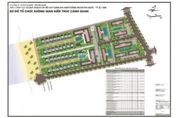Bán đất biệt thự Fecon trong khu Sonasea Bãi Trường, Phú Quốc, giá 14.5 tỷ, diện tích 378m2