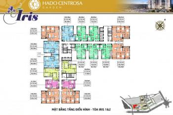 Bán 10 căn Penthouse Duplex Hà Đô Centrosa 163m2 giá từ 50tr/m2 CK 6,3%, LH: 0906234169