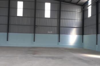 Kho xưởng cho thuê đường Nguyễn Văn Quá, Đông Hưng Thuận, quận 12, DT: 400m2