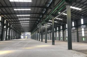 Cho thuê kho xưởng 1500m2, 2500m2, 4500m2 tại KCN Thạch Thất Quốc Oai, Hà Nội