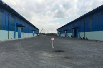Cho thuê kho bãi, nhà xưởng tại KCN Tân Kim Mở Rộng, mặt tiền đường Quốc Lộ 50 gấp