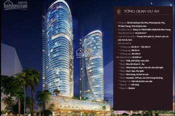 Căn hộ mặt tiền Trần Phú Nha Trang full NT 5*, CKLN đến 12%/năm, có CK mua lại. PKD: 0934674203